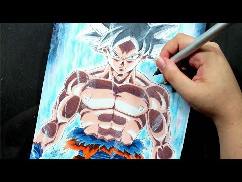 Speed Drawing - GOKU ULTRA INSTINCT [Dragon Ball Super]