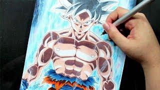 Speed Drawing - GOKU ULTRA INSTINCT [Dragon Ball Super]