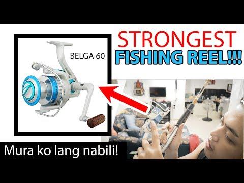 STRONGEST FISHING Reel And Rod Japan Surplus  - Buti Pinili Ko Si YOUTUBE