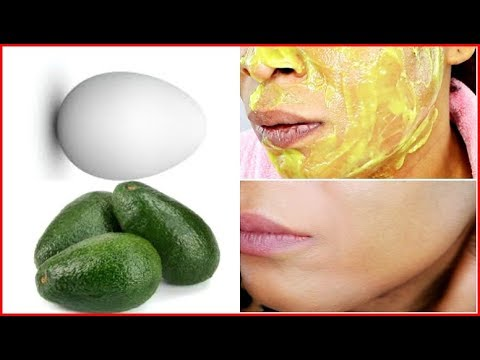 AVOCADO AND EGG, REMOVE WRINKLES, LIFT SKIN, LOOK YEARS YOUNGER WITH FIRM SUPPLE SKIN |Khichi Beauty