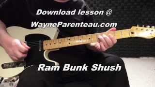 Ram Bunk Shush - Guitar Lesson