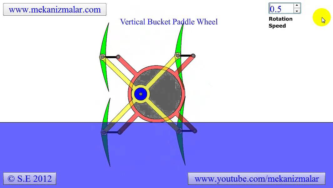 maxresdefault vertical bucket paddle wheel youtube