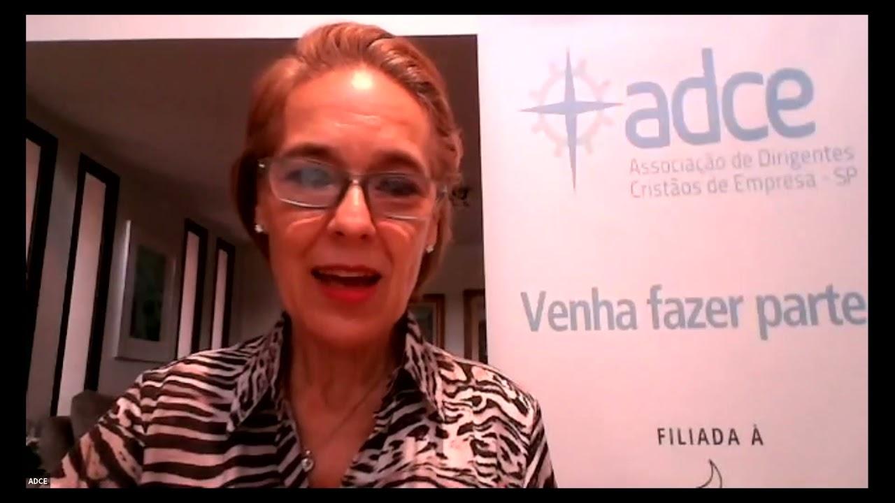 Café da Manhã Virtual da ADCE com Angela Vidal Gandra da Silva Martins