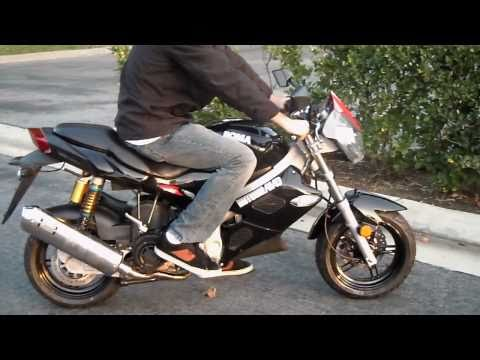 Motobravo 150cc Hornet SR1 LKY Motorcycle Scooter - Review Video 1 Of 2 - CountyImports.com
