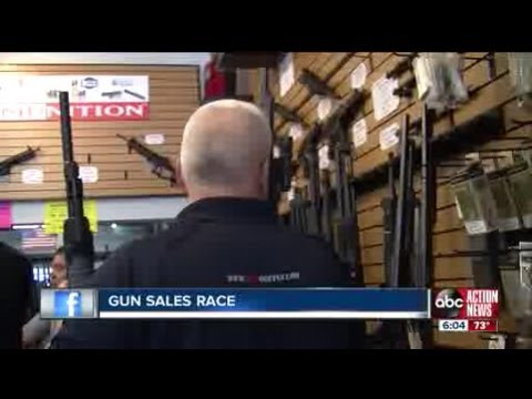 Tampa Bay stores report spike in assault rifle sales as gun control debate wages on