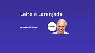 Leite e Laranjada - William Waack comenta