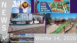 FREIZEITPARK NEWS - Woche 14, 2020 - Europa Park Spenden, Disney kürzt Manager Gehälter & mehr