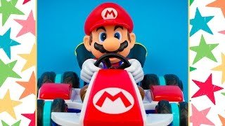 Mario Toys Mario Kart 8 Anti Gravity RC Racer by Nintendo Toy Cars for Kids Kinder Playtime