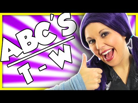 ABC's for Children | Learn ABC's for Kids | Letters T, U, V, W | ABC Series on Tea Time with Tayla