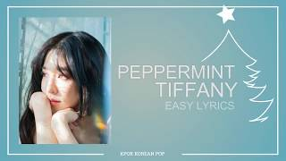 Tiffany Young - Peppermint - Easy Lyrics