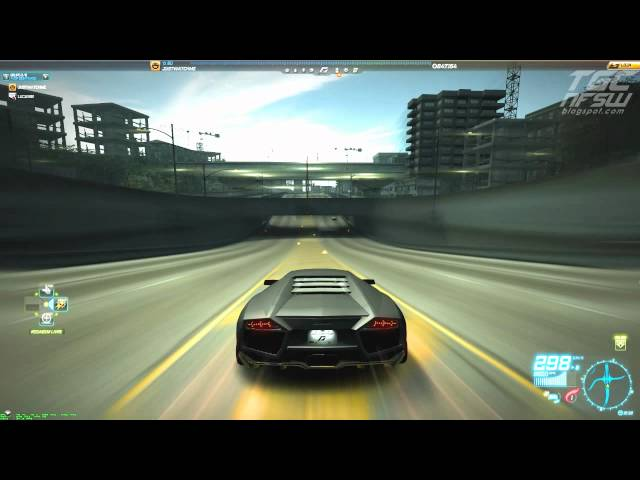 Need for Speed World - Lamborghini Reventón (Test Drive) (400 KM/h)