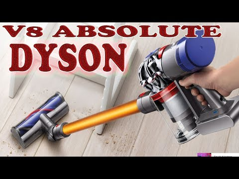 Dyson V8 Absolute.Aspirapolvere senza fili. Cordless stick vacuum cleaners.
