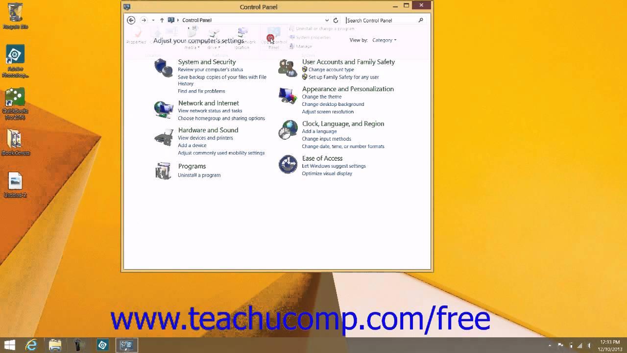 Windows 8 1 Tutorial Changing Desktop Icons Microsoft Training Lesson 5 1