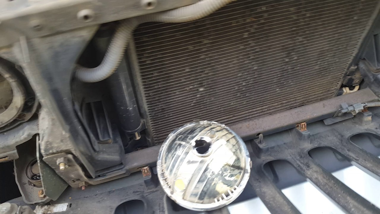 2009 Jeep Wrangler Headlight Replace Youtube 2010 Wiring