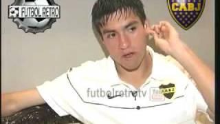 Nicolas GAITAN habla de Boca, Riquelme, su gol soñado y mas 2009 FUTBOL RETRO TV