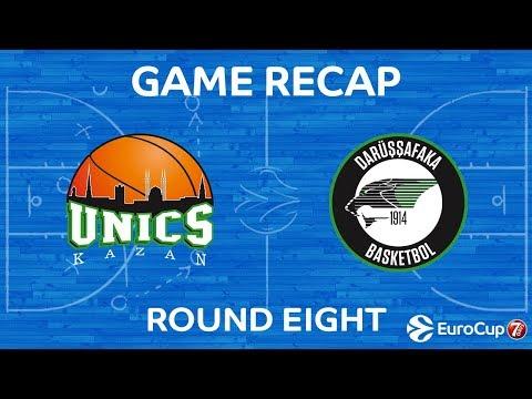 Highlights: Unics Kazan - Darussafaka Istanbul