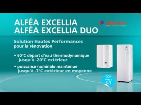 La pompe à chaleur Aérothermie Alféa Excellia et Excellia Duo Atlantic - Domotelec.fr