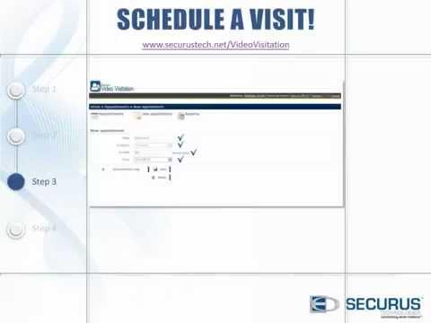 Securus Video Visitation: Step 3 Schedule Your Video ...