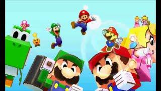 Mario & Luigi: Paper Jam - Ending & Credits