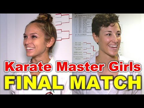 Karate Master girls | The final match of The 1st Okinawa Karate International Tournament