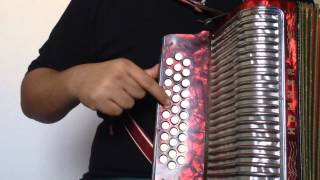 Avientame - Los Invasores de Nuevo León (Tutorial - Slow) Accordion Blog