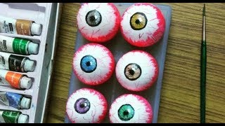 How To Make Realistic Eyeballs for Halloween
