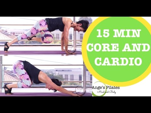 Ange's Pilates 15 Minute Core and Cardio Session