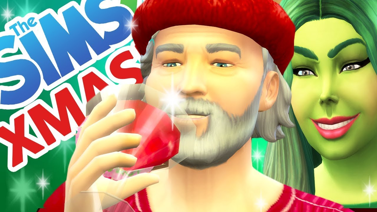 Let's Play The Sims 4 Christmas! [ Part 2 ]