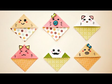 DIY Cute & Easy  Kawaii Bookmarks
