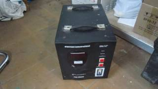 Обзор ремонта стабилизатора Luxeon 5000 VA