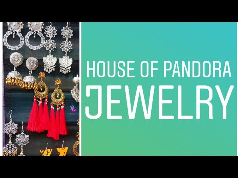 Affordable jewelry subscription in India// house of Pandora jewelry box at 399//