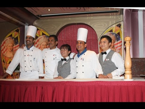 Chef's Dinner Carnival Valor Nov 12 2014