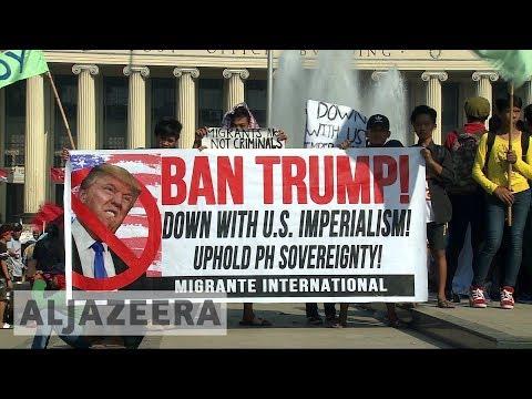 ASEAN summit: Trump hails 'great relationship' with Duterte