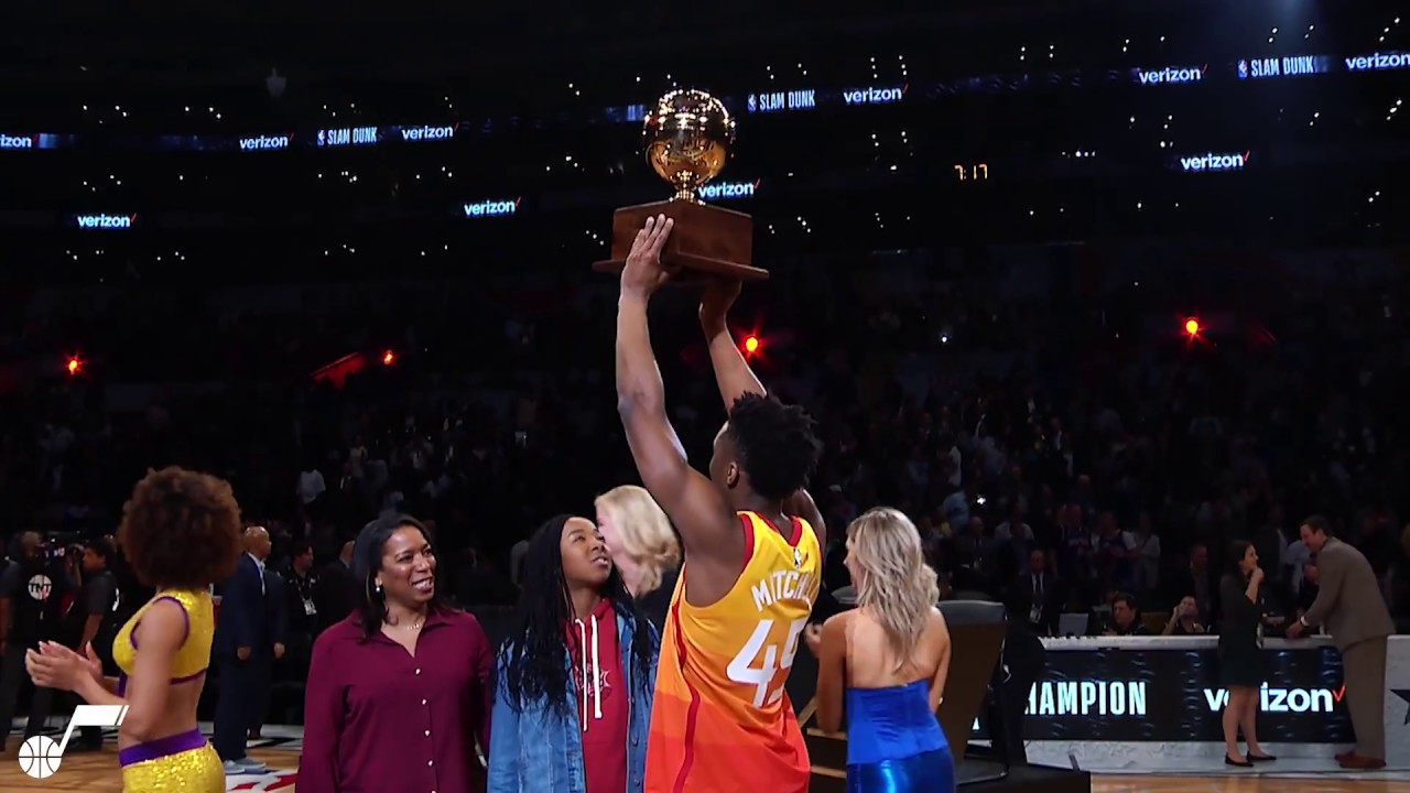 premium selection 37ed7 ac41f Donovan Mitchell's Whirlwind All-Star Weekend