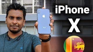 iPhone X Quick Unboxing Sri Lanka
