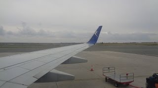 Blue Air 737 - Night Flight - Thessaloniki to Larnaca