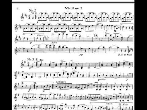 The Blue Danube (Strauss) Violin Sheet Music