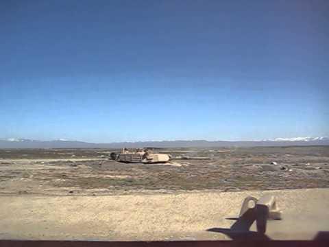 M1A1 Tank Firing