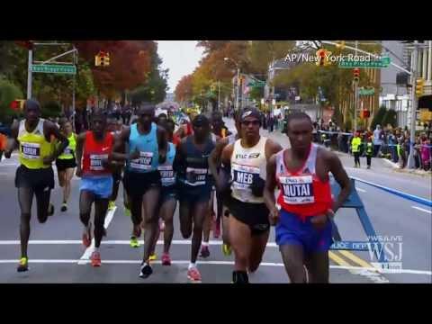 NYC Marathon Draws Record Number of Starters | NYC Marathon Video
