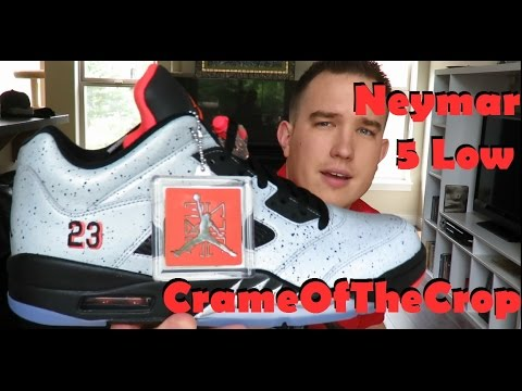 nike air max 90 noir essentielle - NIKE AIR JORDAN RETRO 5 LOW NEYMAR + ON FEET - YouTube