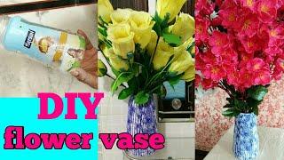DIY flower vase, pot,cement art,do it yourself,anvesha,s creativity