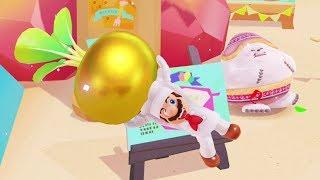 Super Mario Odyssey - All Luncheon Kingdom Power Moons