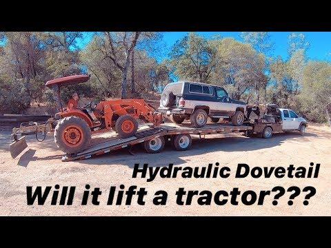 2019 DIAMOND C HYDAULIC DOVE TALE!! WILL IT LIFT A TRACTOR???