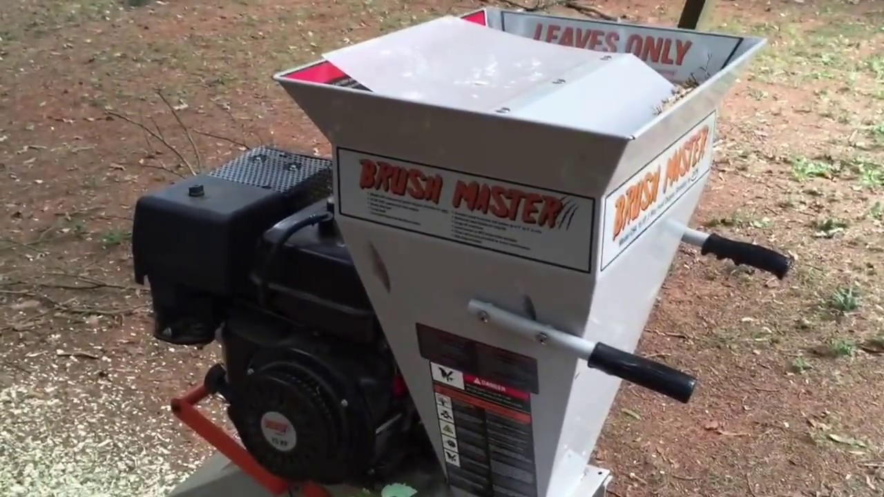 How To Review On Brush Master Chipper By Dek Model Ch4