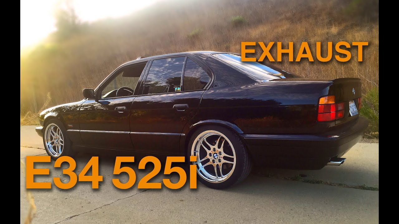 1995 bmw e34 525i 5 speed exhaust sound suspension view a view from down under youtube. Black Bedroom Furniture Sets. Home Design Ideas