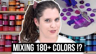 I Mixed All My Soap Colorants Together (180+ Colors!!) | #12DaysofSoapmas2019 | Royalty Soaps
