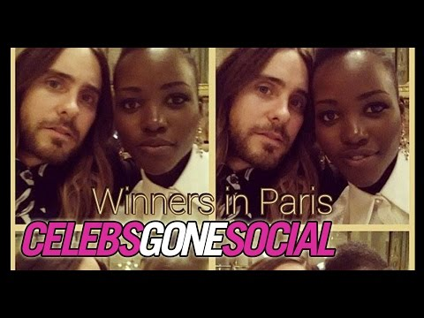 Lupita Nyong'o & Jared Leto Won Oscars -- Celebs Gone Social for March 10, 2014