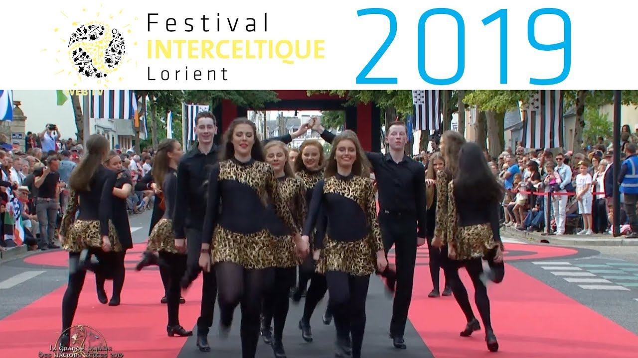 La Grande Parade des Nations Celtes 2019 - Festival Interceltique de Lorient 2019