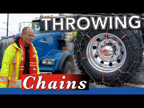 How to Install Chains On a Semi Truck