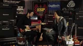 Jonathan Deiley from Northlane ESP Guitar's Interview